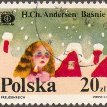 "Poland - ""Hans Christian Anderson"" Postage Stamp - Stamps"