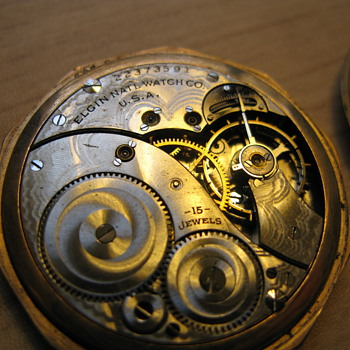 Additional Pics of Elgin engraved pocket watch - Pocket Watches
