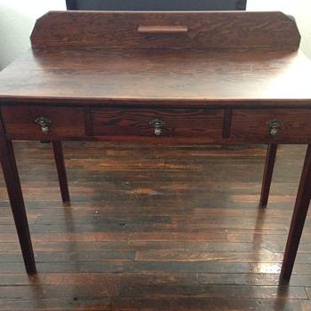 Antique writing desk. Value?