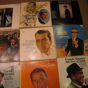 Frank Sinatra Albums - Music Memorabilia