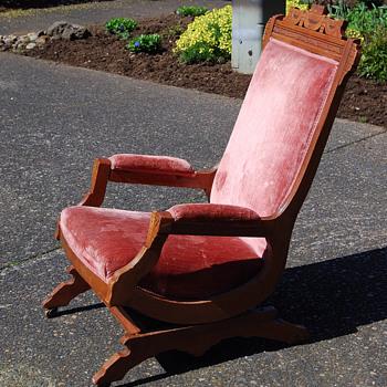 pink rocker - Furniture