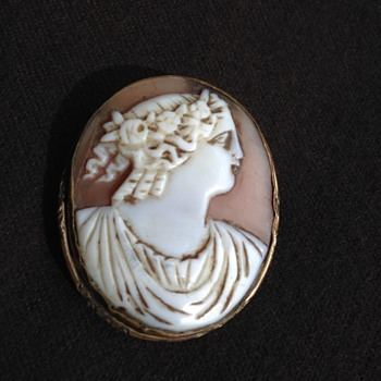 Cameo Roman-Greek Figure - Fine Jewelry