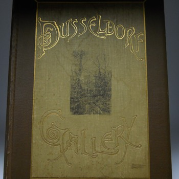 Post 2 of 20--Dusseldorf Gallery, series of twenty Original Etchings, edition 163/350, 1888 - Books