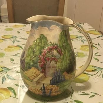 Royal Winton Grimwades hand painted Jug - China and Dinnerware