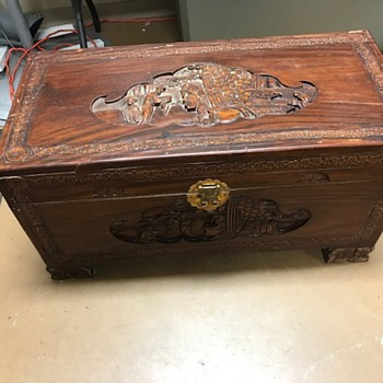 Camphor Wood Glory Box? - Asian