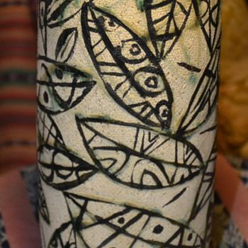 BEAUTIFUL Vase signed YOSHIDA?