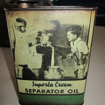STANDARD OIL Separator Oil Tin - Petroliana