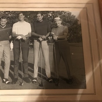 Before my time! Anyone know who these golfers are? Or Movie Stars?  - Photographs