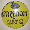 freedom oil sign