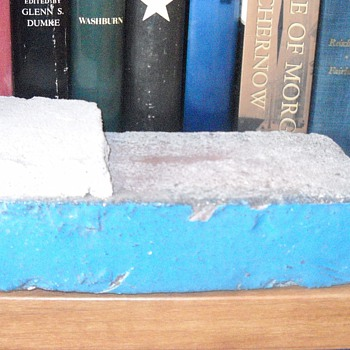 Brick from old Metroplitan Stadium