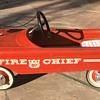 WF Fire Chief Pedal Car