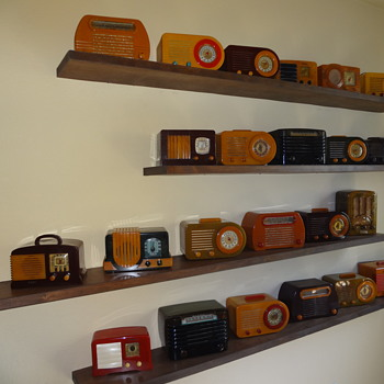 Catalin Radios of the 1930's and 40's - Radios