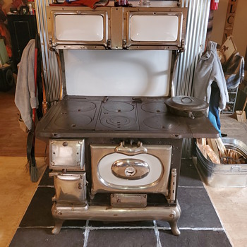 Woodstove - Kitchen