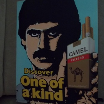 1975 Camel Cigarette Ad. - Advertising
