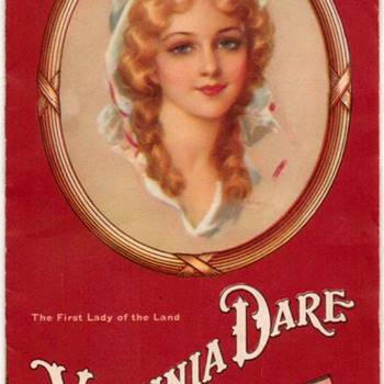 "1930's/1940's - ""Virginia Dare"" Wines Recipe Booklet - Advertising"