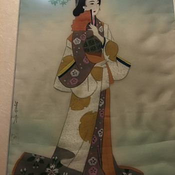 Japanese painting. - Asian