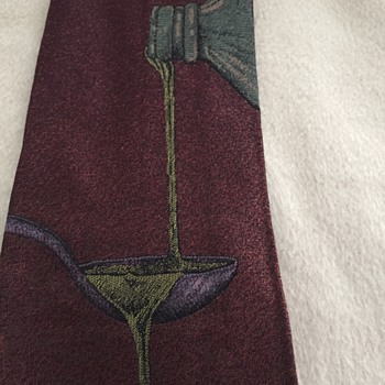Another Fendi Necktie - Pouring liquid from one bottle to another, over a spoon?  What is that about? - Accessories