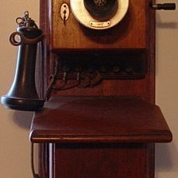 Western Electric Walnut Phone