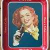 Rare Solid Background Coca Cola Tray