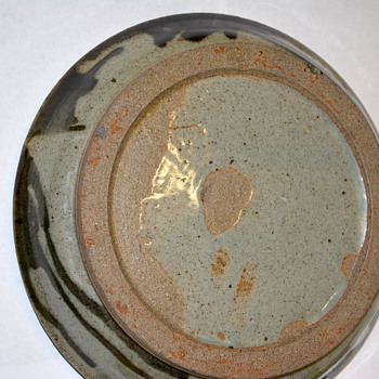 Stoneware Charger w/Mystery Mark - Pottery