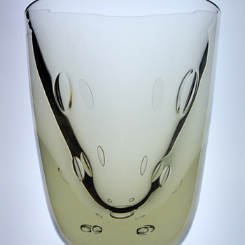 Unique experiment vase, Strombergshyttan 1938. - Art Glass