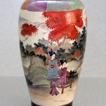 Satsuma vase Japan - Asian