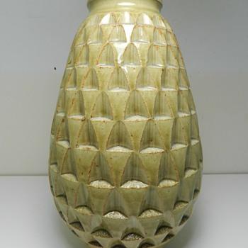 Signed Japanese Art Pottery Vase - Pottery
