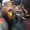 Asian elephants (a pair of)