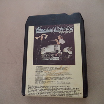 8 Track Tape - Greased Lightning - Electronics