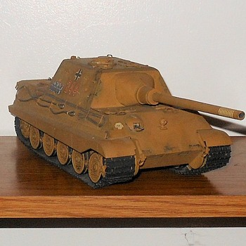 Hunting Tiger Tank Destroyer Model by Tamiya 1/35th Scale - Military and Wartime