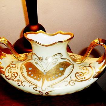 New Thirft Shop Find Art Nouveau Pickard Vase - Art Nouveau