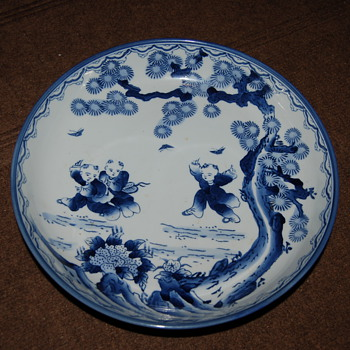 antique bowl - China and Dinnerware