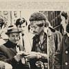 Original 1969 Rock Press Photo: JIMI HENDRIX Signs Autographs after Toronto Drug Arrest
