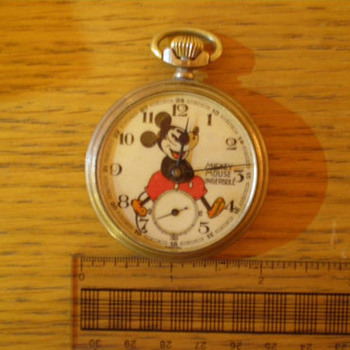 Mickey Mouse Pocket Watch. - Pocket Watches
