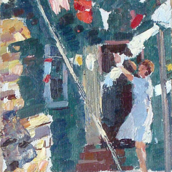 Grigoriy Andreivich Shponko 1926-2006, Russian artist - Fine Art