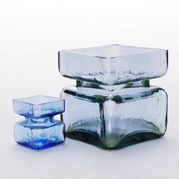 PALA vases, Helena Tynell (Riihimäki lasi, 1964) - Art Glass