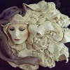 Art Nouveau lady sculpture
