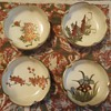 Satsuma salt dishes, hat for Simon (Vietnam), lacquered panels wood Vietnam and other things