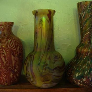 bohemian vases - Art Glass