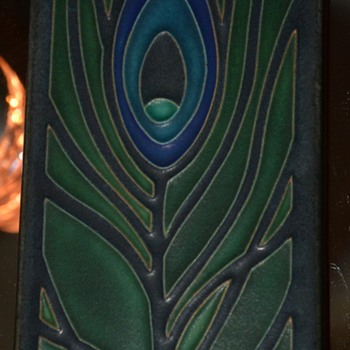 Motawi Tile - Peacock Feather