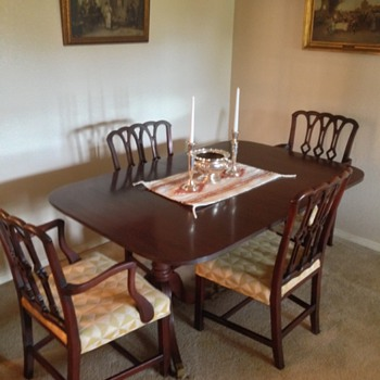 Duncan Phyfe (style?) dining set