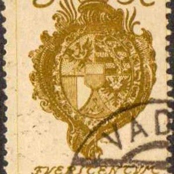 "1920 - Liechtenstein ""Coat of Arms"" Postage Stamps - Stamps"