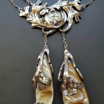 Unknown style and maker necklace arts and crafts? - Fine Jewelry