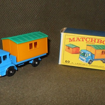 Mack's Mighty Matchbox Monday MB-60 Truck With Site Office 1966 - Model Cars