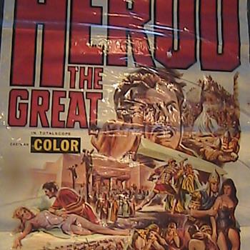 "Vintage Movie Poster ""Herod The Great"""