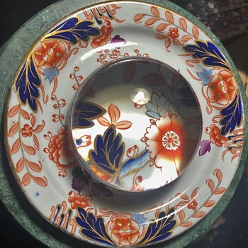 What kind of plate is this? Davenport Stone China - Pottery
