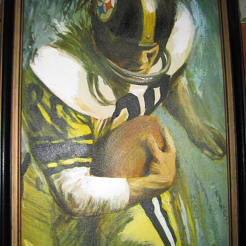 Steelers Vintage Painting?  help!