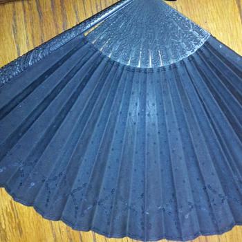 Vintage Tiffany Black Fan