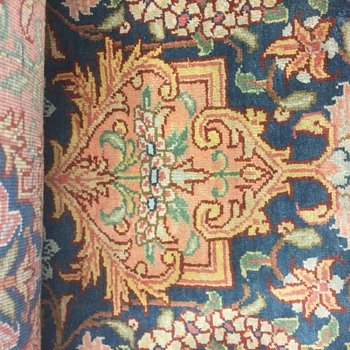 Handmade silk very fine rug 4x6 - Rugs and Textiles