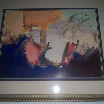 Abstract art painting frame  - Fine Art